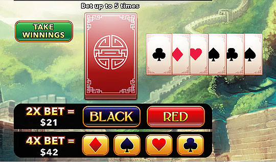 Mega Bet Bonus Round in Golden Dragon Slots Casiino