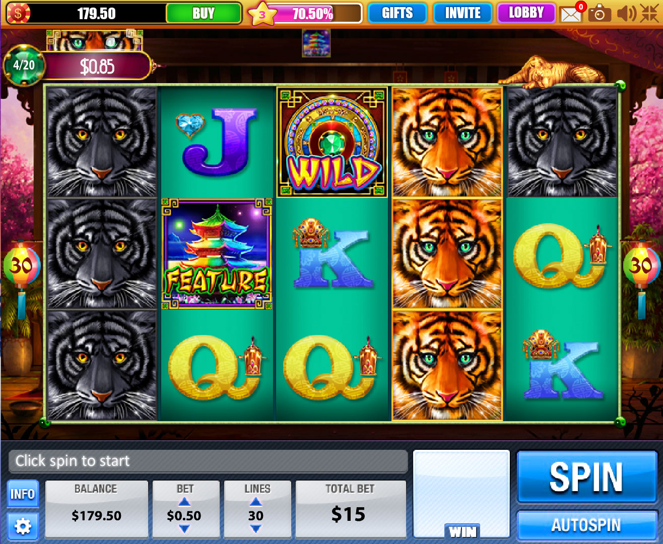 Tiger Heart Slots - Read the Review and Play for Free