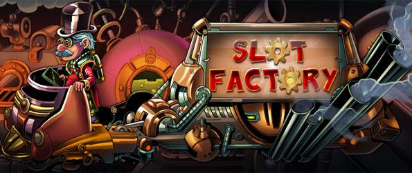 Slot Factory - Win big in this amazing and fast growing new Slots Game on Facebook.