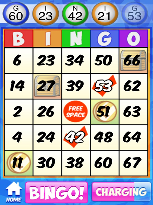 free to play bingo games online