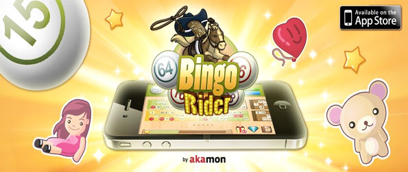Bingo Rider - Enjoy a classic 90 number bingo game free on Facebook.
