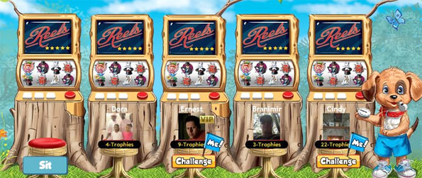 Reels Slot Machines - The newest slots game is free on Facebook, full of fun machines and big prizes.