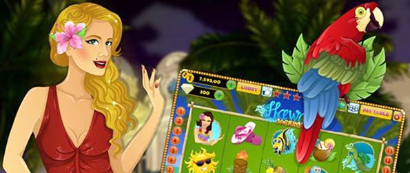 Exotic Slots - Enjoy a fun casual slots game free on Facebook.