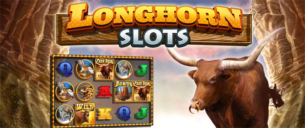 Longhorn Slots - Enjoy a fun casual slots game with a wild them free on Facebook.