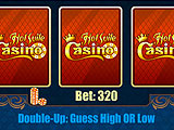Double or Nothing Bet Game in Hot Suite Casino