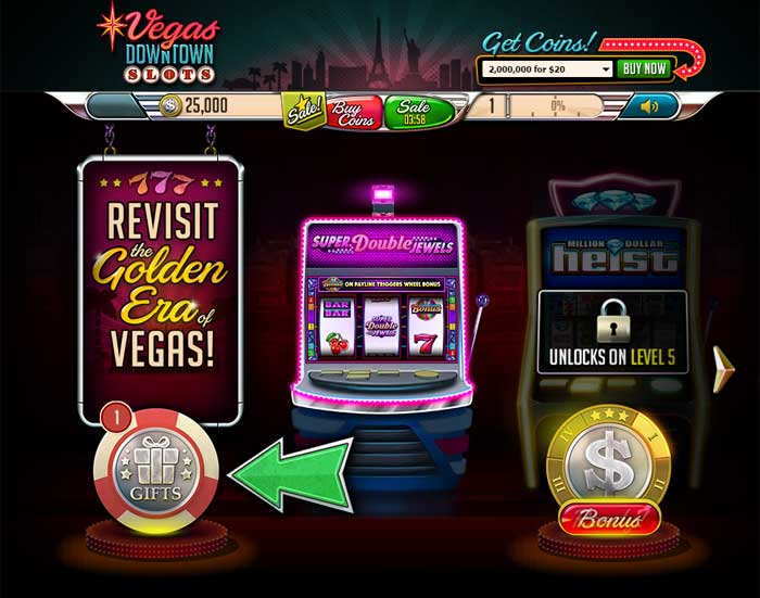 coin slots downtown vegas