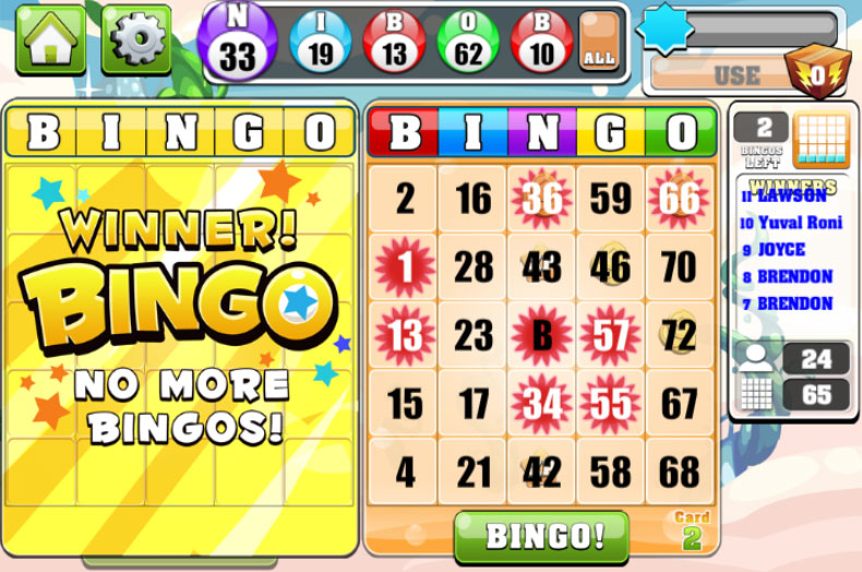 Spin Bingo - Try the Online Bingo Game for Free Now