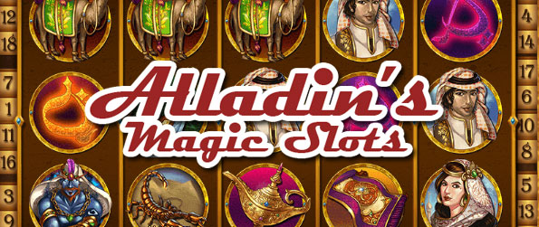 Alladin's Magic Slots - Alladin's Magic Slots is an addictive Facebook based slots game that compiles a decent variety of wonderfully designed and presented themed slots.