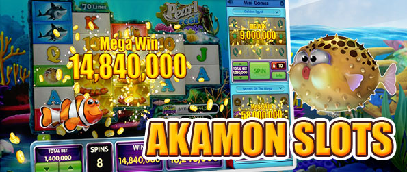 Akamon Slots - Play through the massive collection of wonderfully designed themed slots and strike it rich in this enticing slots game.