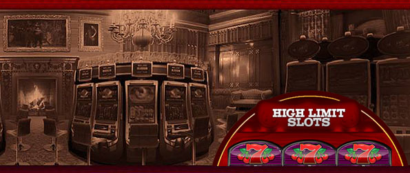 High Limit Slots - Enjoy the slots spinning craze with wonderfully themed machines – each with their own unique rules and design in High Limit Slots.