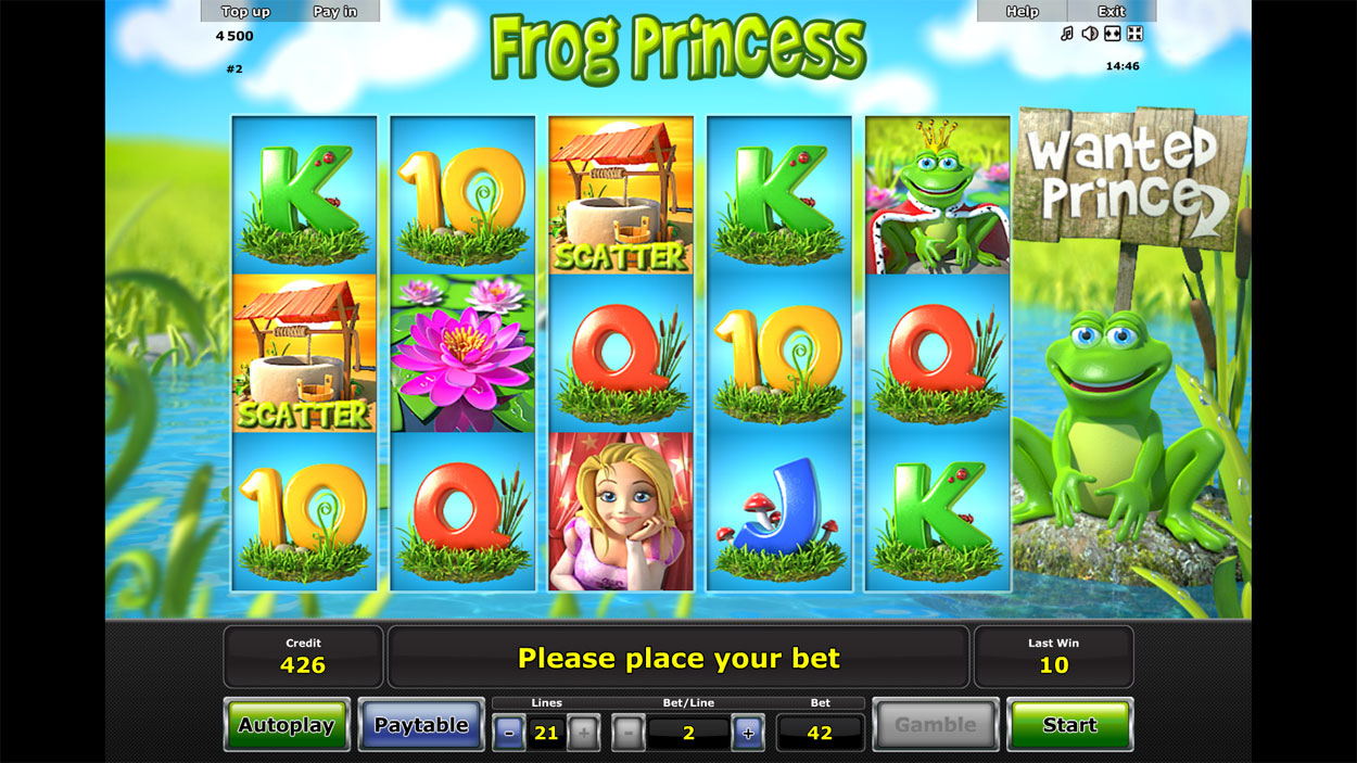 Frog Prince Slots Online and Real Money Casino Play