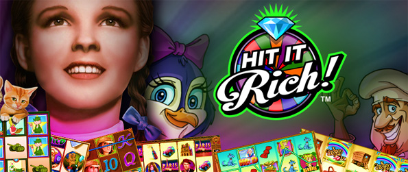 Hit it Rich - Choose your machine in this popular free Facebook Slots Game.