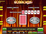 Double-or-Nothing Bonus Game in Ultra Hot Deluxe Slots