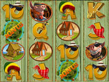 Triggering the Bonus Game in Piggies and the Wolf Slots