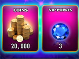 Spin It Rich Level Up Rewards